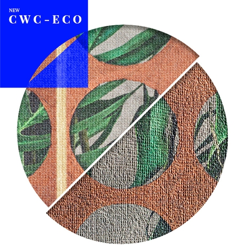 The new substrate CWC-ECO- contributions for a really sustainable interior design